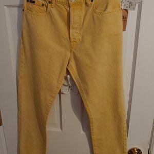 Polo RL Jeans Callen High Rise Slim No. 27 NWT